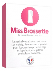Machouyou Miss Brossette Finger Toothbrush