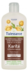 Natessance Cream Shampoo Shea and Botanical Keratin 250ml