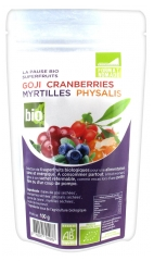 Exopharm Goji Cranberries Blueberries Physalis Organic 100 g