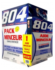 Les 3 Chênes 804 Slimming Pack Reinforced Formula + 1 Free Slimness Help Triple Action