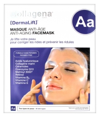 Collagena Dermalift Masque Anti-Âge 5 Masques Hydrogel