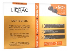 Lierac Sunissime Preparation Capsules Quick and Sublime Tan Duo Offer 2 x 30 Capsules