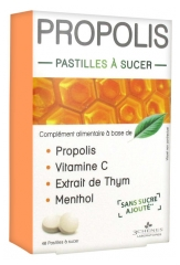 Les 3 Chênes Propolis Soothing & Calming Lozenges to Suck x40