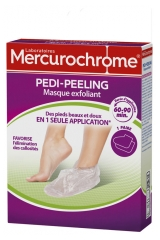Mercurochrome Pedi-Peeling Exfoliating Mask 1 Pair