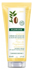 Klorane Nourishing Shower Cream with Organic Cupuaçu Frangipani Flower 200ml
