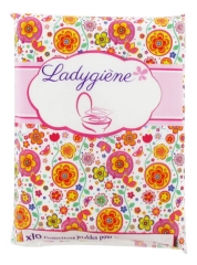 Ladygiène 10 Disposable Protections For Toilet Seats