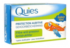 Quies Protection Auditive EarPlanes Enfant 1 Paire