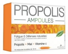 Les 3 Chênes Propolis Stimulation of Natural Defenses 10 Phials