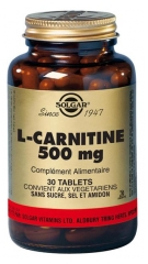 Solgar L-Carnitine 500 mg 30 Tabletten