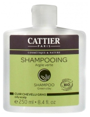 Cattier Oily Scalp Green Clay Shampoo 250ml