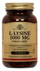 Solgar L-Lysin 1000 mg 50 Tabletten