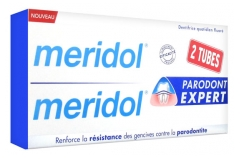 Meridol Parodont Expert Dentifrice Lot de 2 x 75 ml