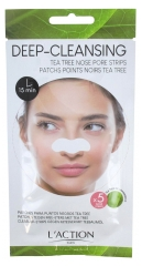 L'Action Paris Patchs Points Noirs Tea Tree 5 Bandes