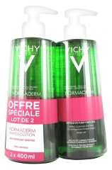 Vichy Normaderm Phytosolution Gel Purifiant Intense Lot de 2 x 400 ml