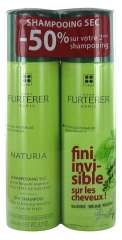 Furterer Naturia Dry Shampoo with Absorbent Clay 2 x 150ml