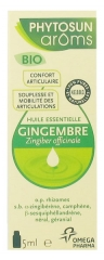 Phytosun Arôms Gingembre (Zingiber officinale) Bio 5 ml