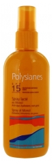 Polysianes Spray Lacté au Monoï SPF 15 125 ml