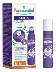 Puressentiel roll-on antiestrés con 12 aceites esenciales 5 ml