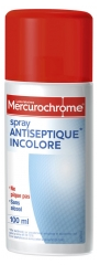 Mercurochrome Antiseptique Incolore Spray 100 ml