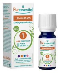 Puressentiel Essential Oil Lemongrass Bio 10ml