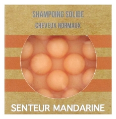 Valdispharm Shampoing Solide Cheveux Normaux Senteur Mandarine 55 g