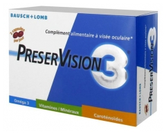 Bausch + Lomb PreserVision 3 60 Capsules