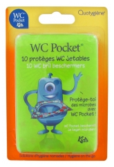 WC Pocket Kids 10 Disposable Toilet Seats