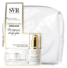 SVR Densitium Rich Cream Mature Skin Loss of Density Dry to Very Dry Skin 50ml + SVR Densitium Eye Contour Cream Wrinkles, Puffiness, Dark Circles 15ml Free