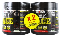 Eric Favre Born of Rage Explosive Pre-Workout Lot de 2 x 250 g