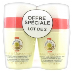 Roger & Gallet Anti-Transpirant Deodorant 48H Fleur D'Osmanthus Packung 2 x 50 ml