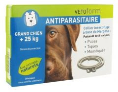 Vetoform Antiparasite Insect Repellent Collar Big Dog + 25kg