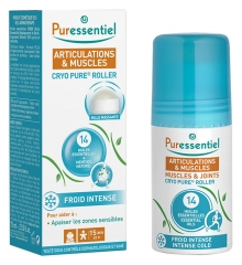 Puressentiel Muscles & Joints Cryo Pure Roller with 14 Essential Oils 75ml