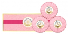 Roger & Gallet Savons Doux Rose 3 x 100 g