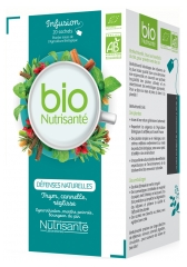 Nutrisanté Organic Infusion Natural Defenses 20 Sachets