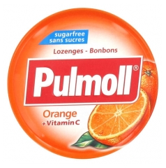 Pulmoll Lozenges Orange Sugar Free 45g