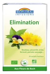Biofloral Infusions Elimination Bio 20 Sachets