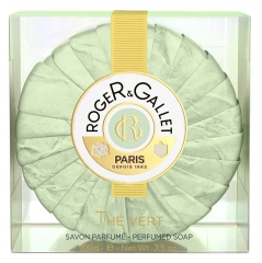 Roger & Gallet Fresh Soap Cristal Box Green Tea 100g