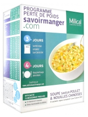 Milical Weight Loss Program Soup and Chinese Noodles 4 Sachets