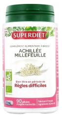 Super Diet Organic Yarrow Millefeuille 90 Capsules