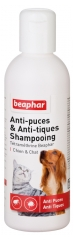 Beaphar Anti-Puces et Anti-Tiques Shampooing 200 ml