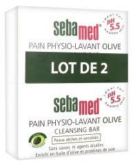 Sebamed Olive Cleansing Bar 2 x 150g