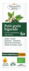 NatureSun Aroms Organic Essential Oil Petit Grain Bigarade (Citrus Aurantium ssp Amara) 10ml