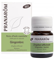 Pranarôm Organic Pearls of Essential Oil Ginger (Zingiber Officinale) 60 Pearls