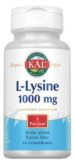 Kal L-Lysine 1000mg 50 Tablets