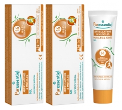 Puressentiel Joints Gel with 14 Essential Oils 2 x 60ml