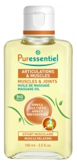 Puressentiel Muscles and Joints Organic Massage Oil 100ml