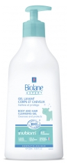 Biolane Expert Organic Body and Hair Cleansing Gel 500ml