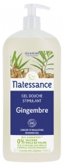 Natessance Organic Ginger Stimulating Shower Gel 1L