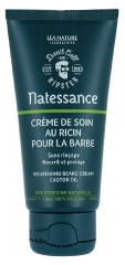 Natessance Nourishing Beard Cream Castor Oil 50ml