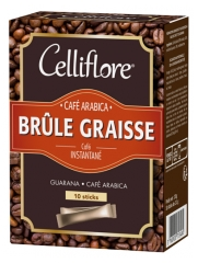 Celliflore Café Arabica Brûle-Graisse 10 Sticks
